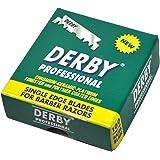 "1000 ""Derby Professional"" Single Edge Razor Blades for straight razor"