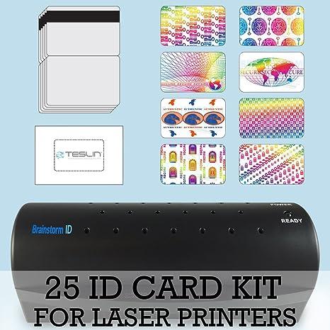 Amazon.com: Tarjeta de Identificación Kit para impresoras ...