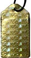 En Route Hologram Luggage Tag Gold