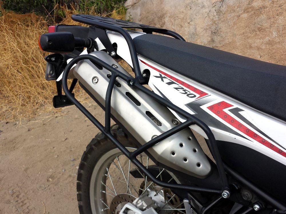Yamaha XT250 Side Luggage Racks (08 - Present)
