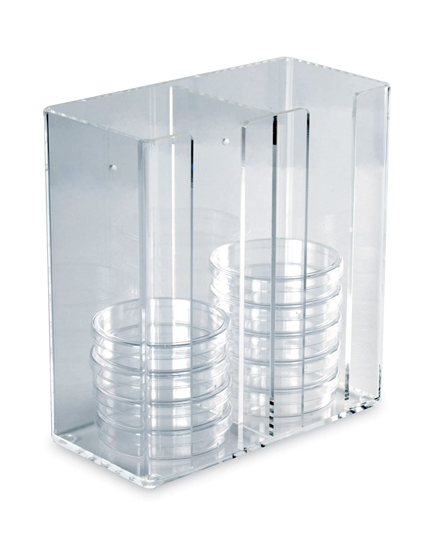 Heathrow HS23452 Acrylic Petri Dish Dispenser