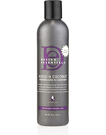 Design Essentials Strengthening Kukui & Coconut Hydrating Leave-In Conditioner for Relaxed and Natural Hair