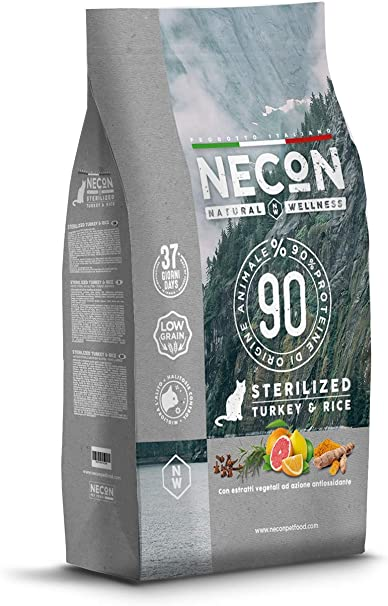 NECON Pet Food Natural Wellness Pavo y Arroz 1.5kg, Comida ...