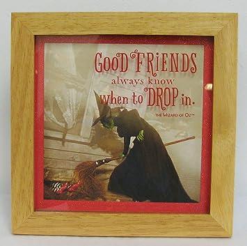 Amazoncom Hallmark Woz1028 Wizard Of Oz Good Friends Wicked