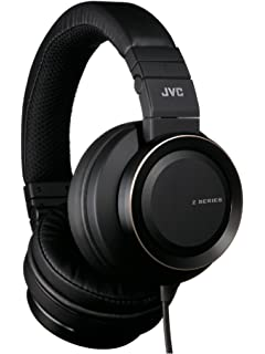 JVC Real Sound System Z Series HA-SZ2000 Stream Woofer DB Headphones (Black,