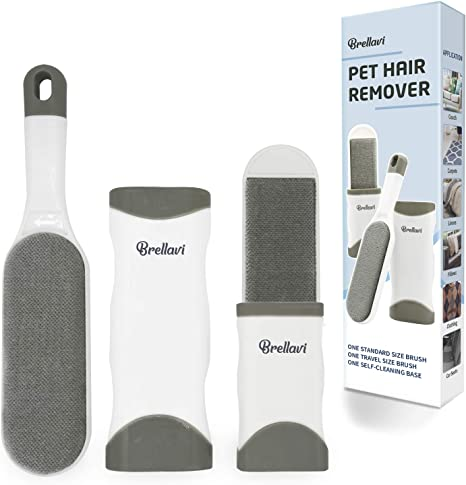 Perfect for Clothes Doeki Pet Hair Remover-Dog & Cat Lint Roller ...