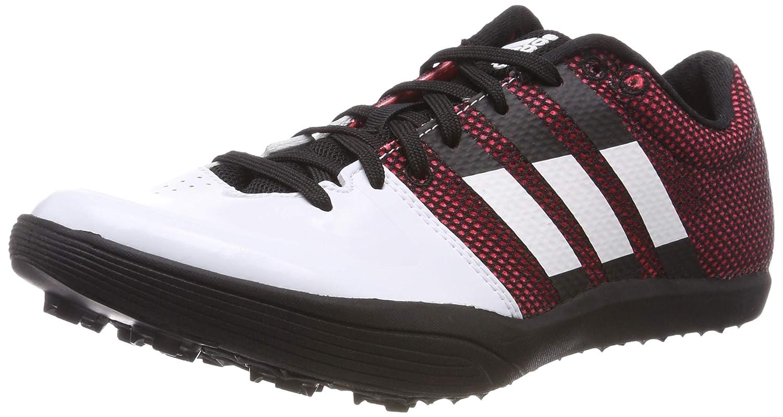 Adidas Unisex-Erwachsene Adizero lj Leichtathletikschuhe Weiß FTWR Weiß Core schwarz, 44 2 3 EU