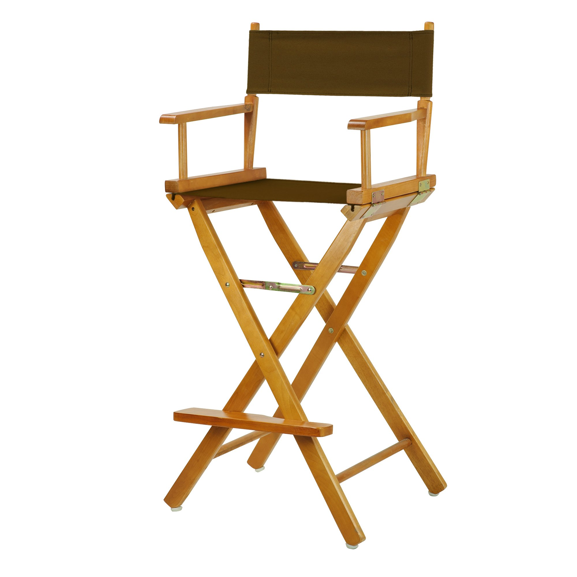 Casual Home 230-05/021-45 Director Chair, 30''-Bar Height, Brown