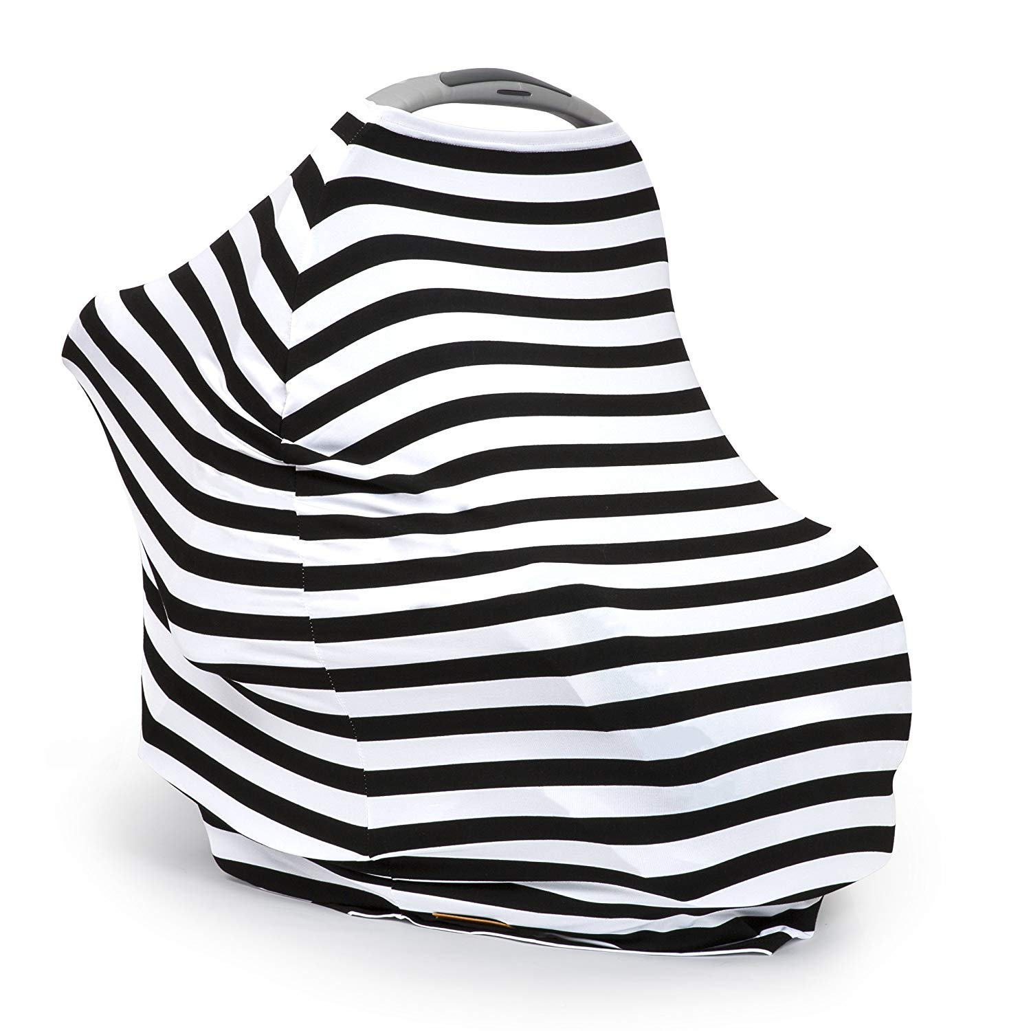 Privacy Nursing Cover,Shopping Grocery Trolley Cover Black Ruiuzi Multi Use Breastfeeding Scarf Nursing Cover Udder Mums Apron Shawl Infant Blanket,Stretchy Car Seat Cover Classic Design