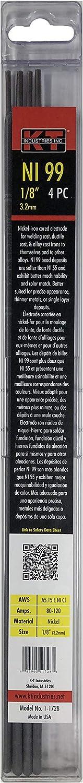 K-T Industries Nickel 55 Arc Welding Stick Electrode Value Pack 1//8-Inch