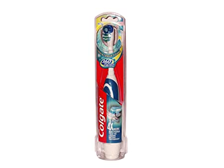 Colgate Cepillo Bateria 360 Whole Mouth Clean - 1 Cepillo: Amazon.es: Salud y cuidado personal
