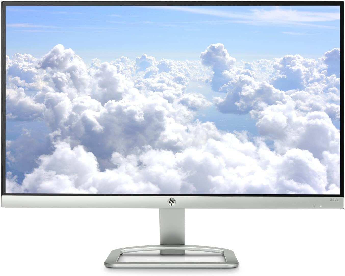 HP 2016 Model 23 inch ES Series Ultrafast ~ IPS Full HD (1920x1080) ~ LED Monitor ~ HDMI, VGA, Tiltable ~ Silver