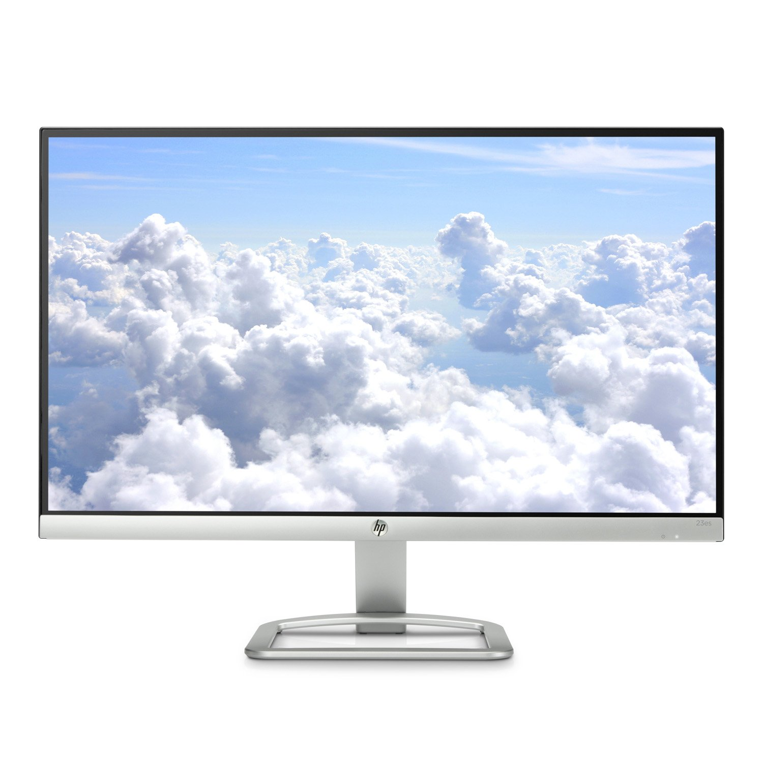 2016 Model ~ HP 23 inch ES Series Ultrafast ~ IPS Full HD (1920x1080) ~ LED Monitor ~ HDMI, VGA, Tiltable ~ Silver