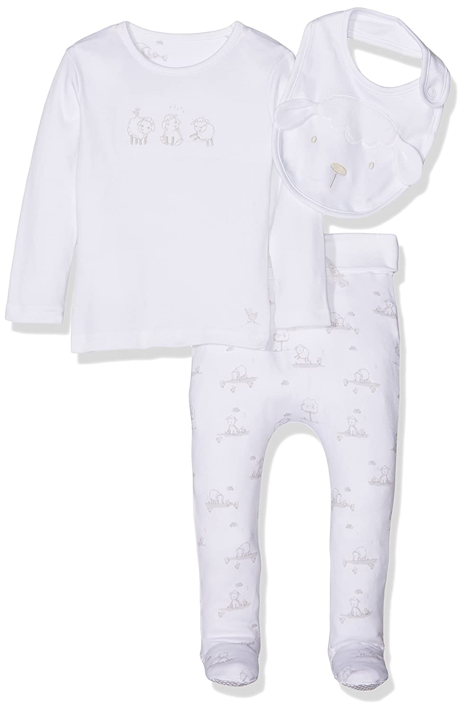Mothercare Unisex Baby Body Little Lamb, 8 Stück 8 Stück