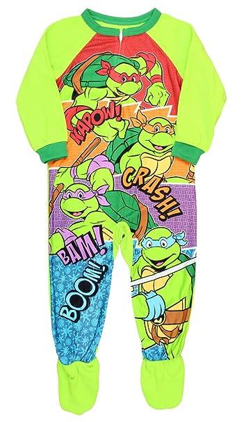 3c7179138 Amazon.com  Teenage Mutant Ninja Turtles Footed Pajamas Blanket ...