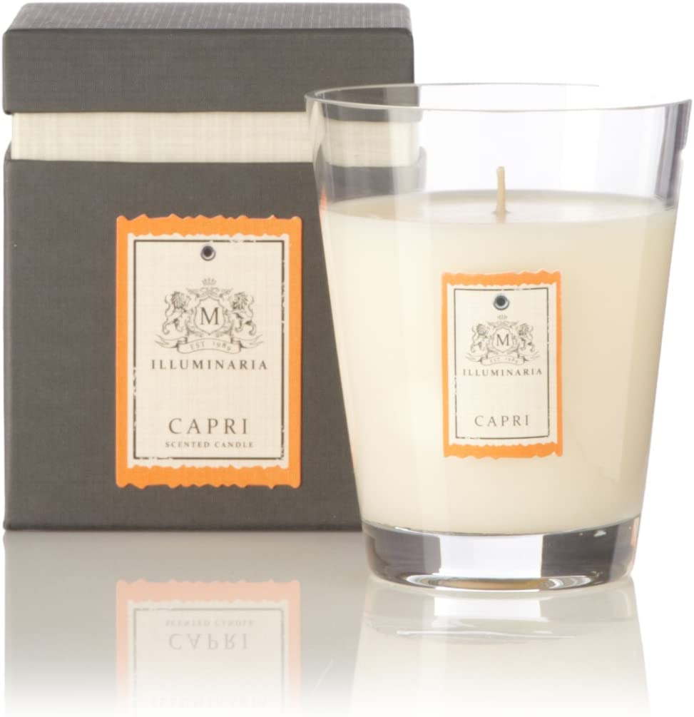 Zodax Illuminaria Scented Candle Jar in Gift Box - Capri / Small