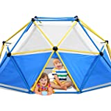 Jugader Dome Climber with Canopy, 8FT Climbing Dome for Kids 3-9, 1000LBS Capacity, Rust and UV Resistant Steel, Geo Jungle G