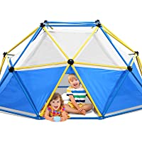 Jugader Dome Climber with Canopy, 8FT Climbing Dome for Kids 3-9, 1000LBS Capacity, Rust and UV Resistant Steel, Geo…