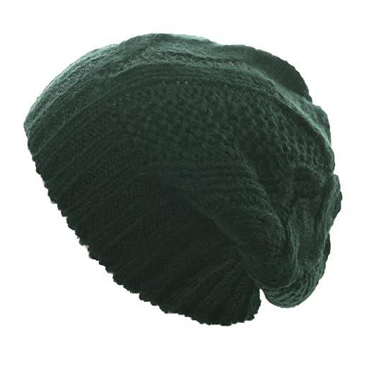 6715be86796 90210 Wholesale Plain Knit Beanie Winter Oversize Baggy Hat Ski Slouch Cap  Chic Unisex Hats Caps