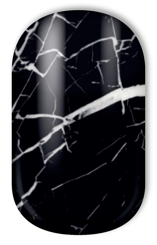 Miss Sophie\'s schwarz-marmor Nagel-Folien Black Marble: Nagel-Design ...