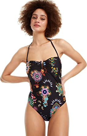 Black mandala swimsuit