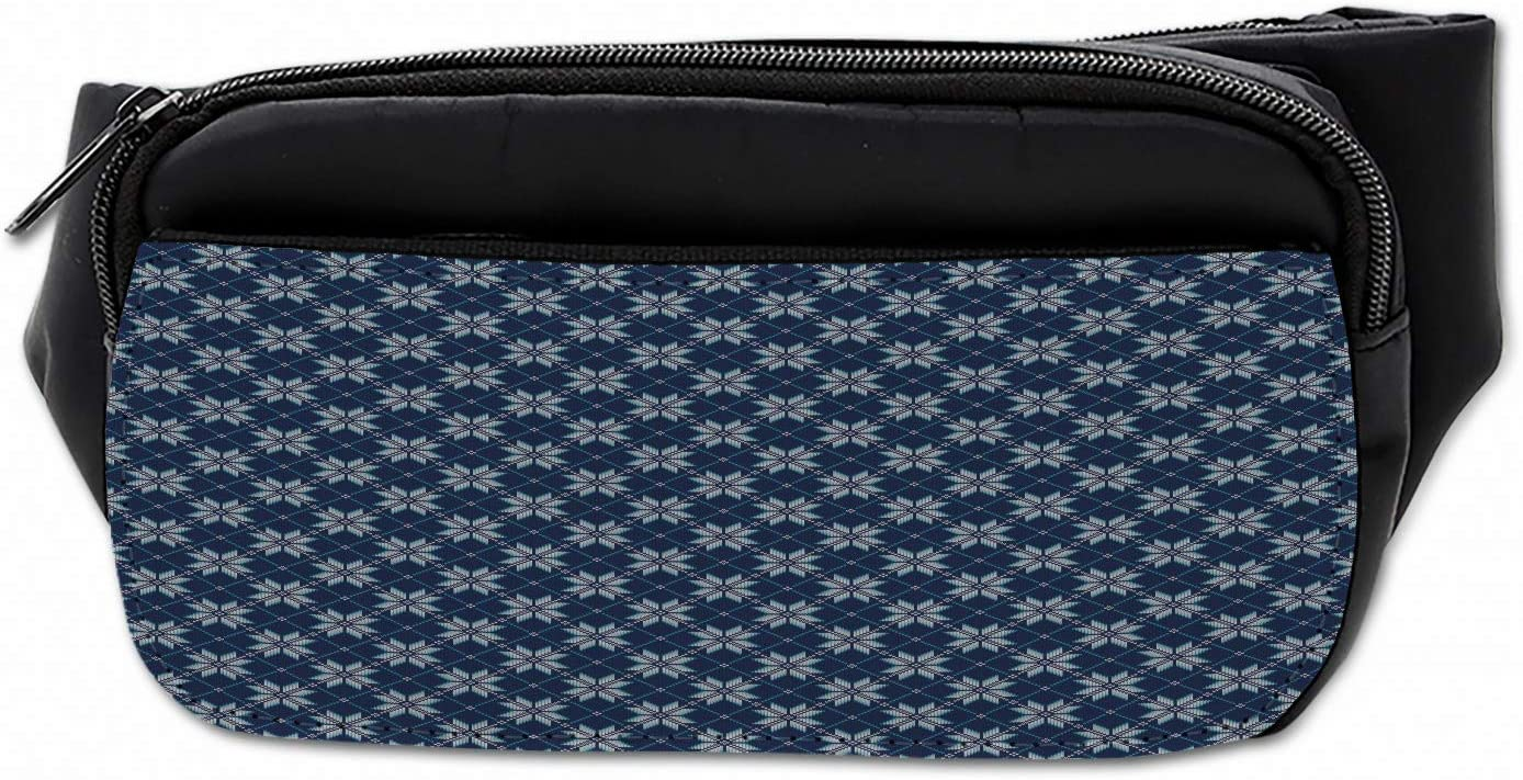 Snowflake Sport Waist Pack Fanny Pack Adjustable For Hike