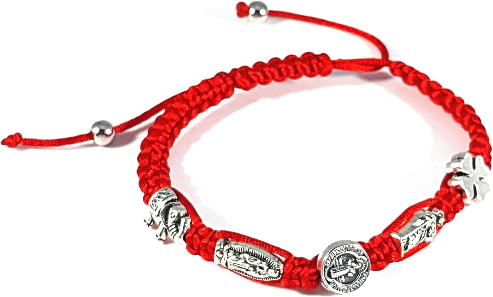 Lucky Elephant Bracelet Jewelry Charm Friendship Adjustable String 1 SZ FIT