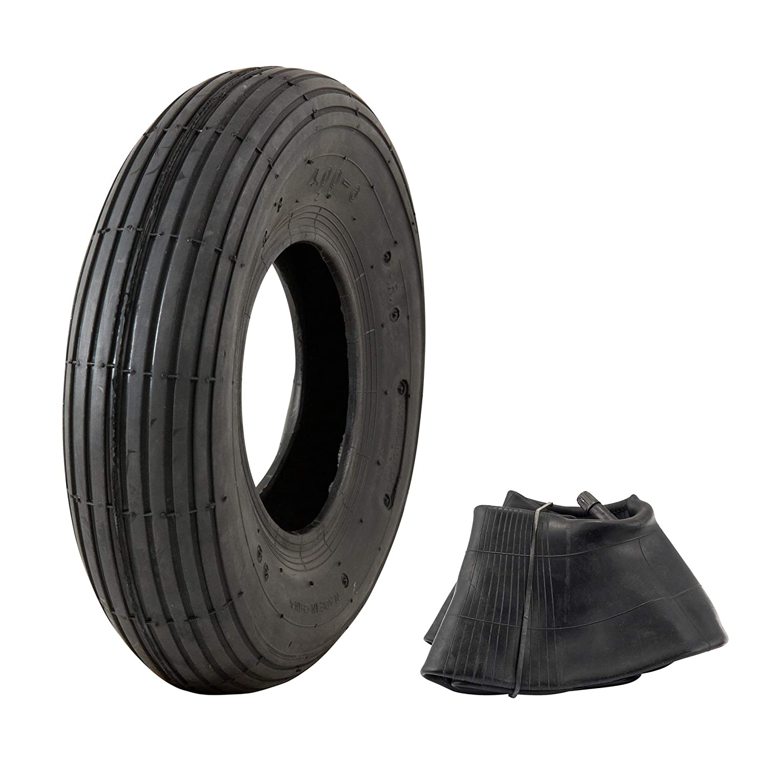 "Marathon 4.00-6"" Replacement Pneumatic Wheel Tire and Tube"