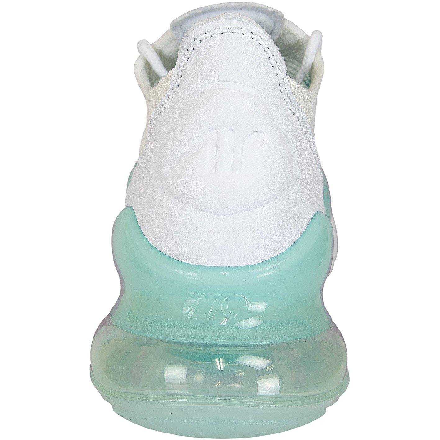 d9f64d85c Zapatillas de Deporte Mujer NIKE Air MAX 270 Flyknit en Tela Blanca y Verde  AH6803-301  Amazon.es  Zapatos y complementos