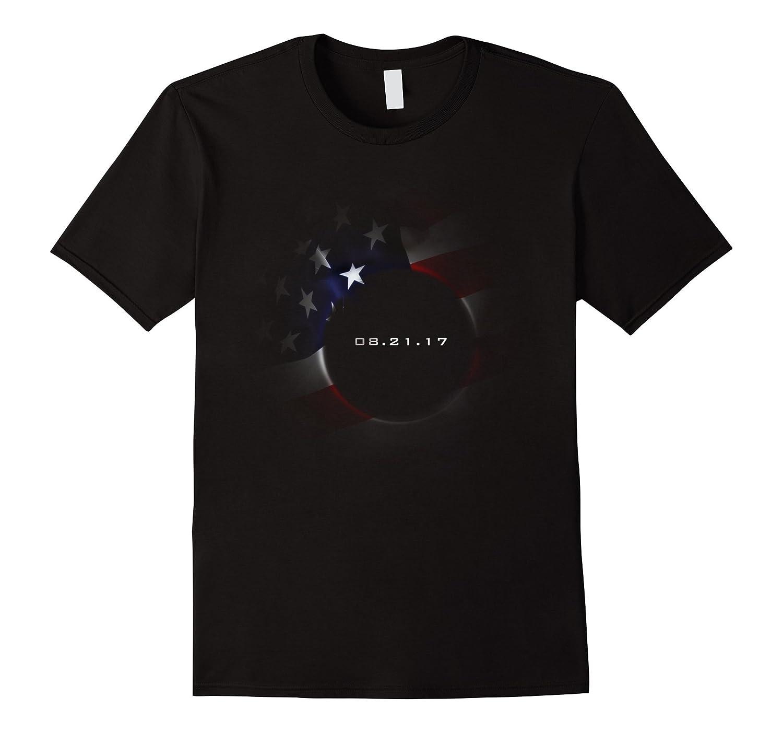 Solar Eclipse T-Shirt USA Flag Edition 2017-TH