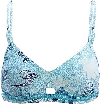 Seafolly Women's Keyhole Adjustable Bralette Bikini Top Swimsuit