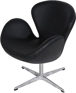 mlf arne jacobsen swan chair 8 colors italian leather hand sewn arne jacobsen egg chair leather black