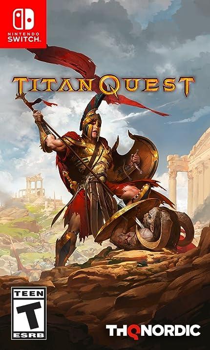 Amazon com: Titan Quest - Nintendo Switch Standard Edition: Thq