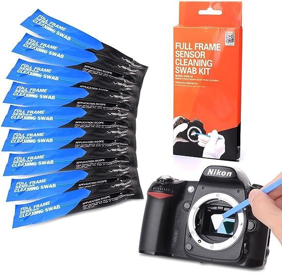 UES Kit de Limpieza de completo sensor de la DSLR cámara Digital ...