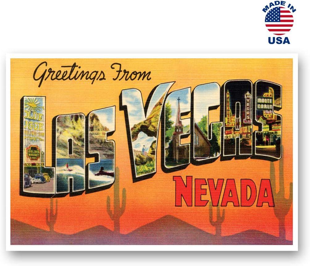 USA Las Vegas Quality Set of 6 Brand New Glossy Postcards Nevada