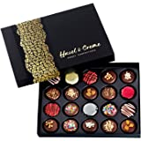 Hazel & Creme Chocolate Gift Boxes - Chocolate Covered Cookies - Gourmet Food Gift (Extra Large Gift Box)