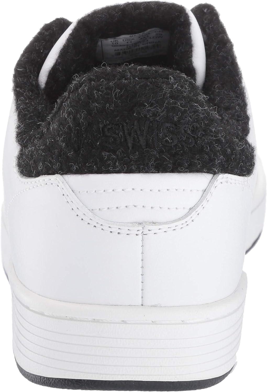 K-Swiss Men's Clean Court Cmf Fashion Sneaker White/Caviar