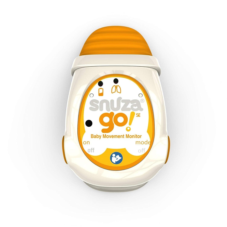 Snuza Go Wireless Baby Monitor – Orange