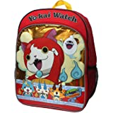 Accessory Innovations Yo-Kai Watch Jibayan Crew 16 inch Backpack with Side Mesh Pockets