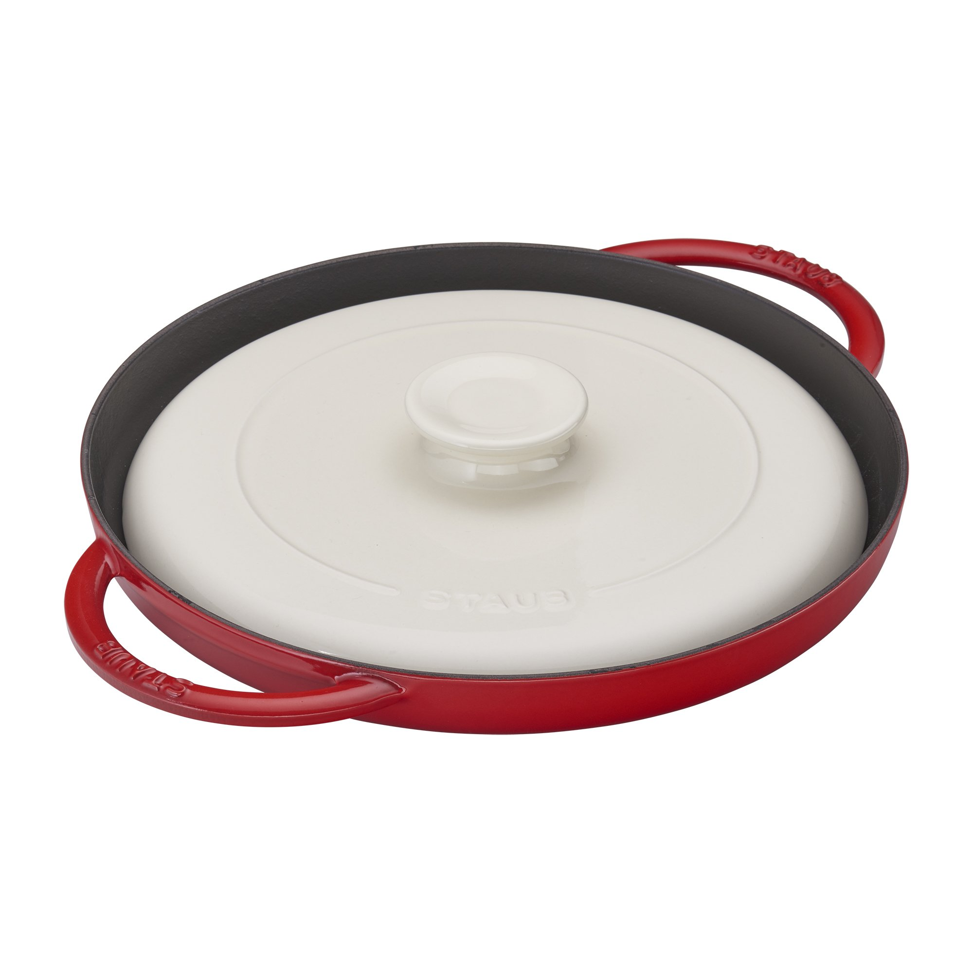 Staub 40508-554 Chicken Al Mattone, 12'', Cherry