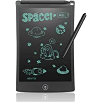 Wayona Kids LCD Writing Slate & Drawing Tablet 8.5 Inch E-Writer with Stylus for Kids and Office Use (Black, 8.5 LCD)