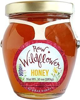 product image for Bare Honey | Raw Wildflower Honey | 10 oz Glass Honeypot