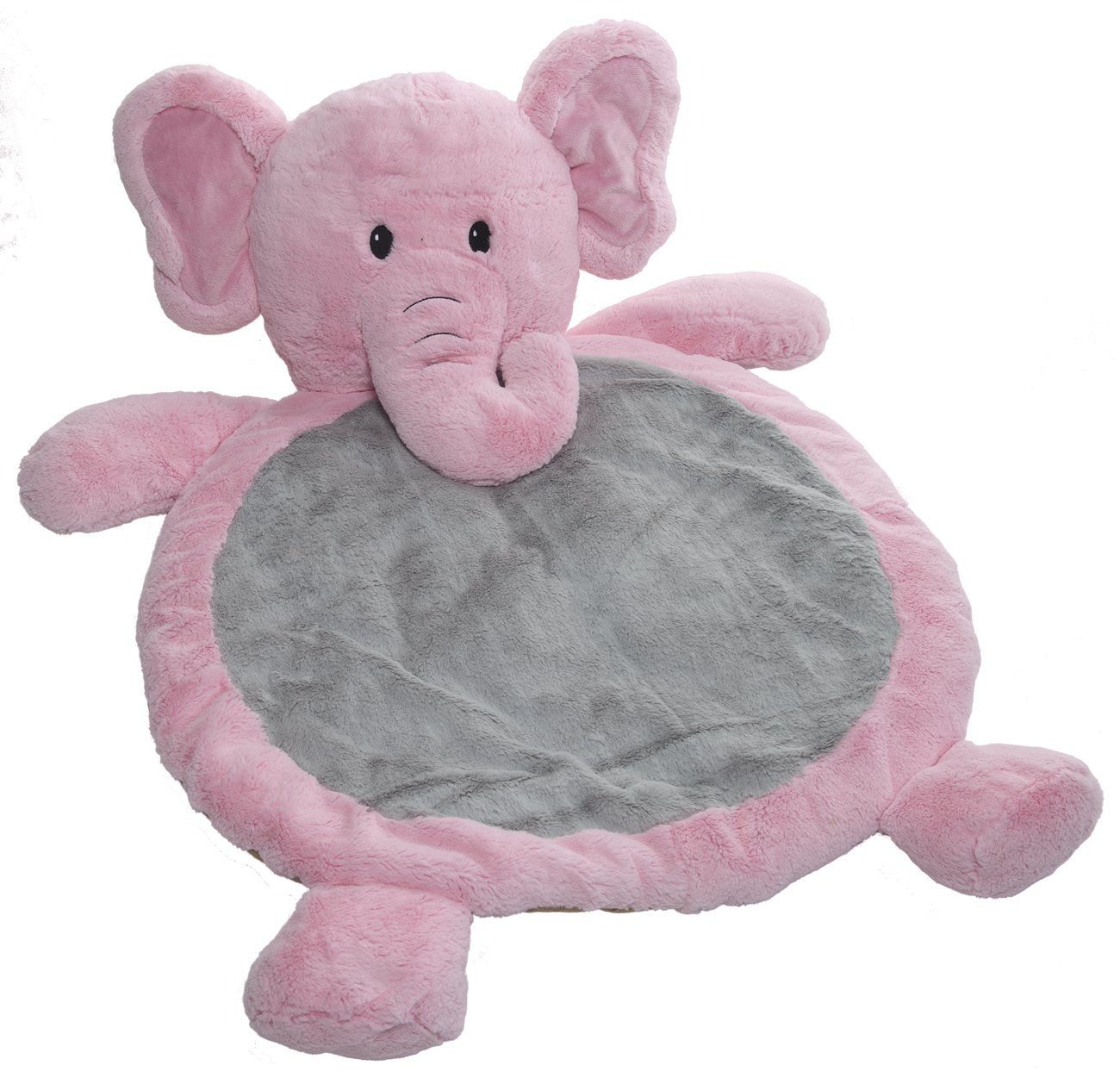 amazoncom  mary meyer bestever baby mat elephant pink  early  - amazoncom  mary meyer bestever baby mat elephant pink  earlydevelopment playmats  baby