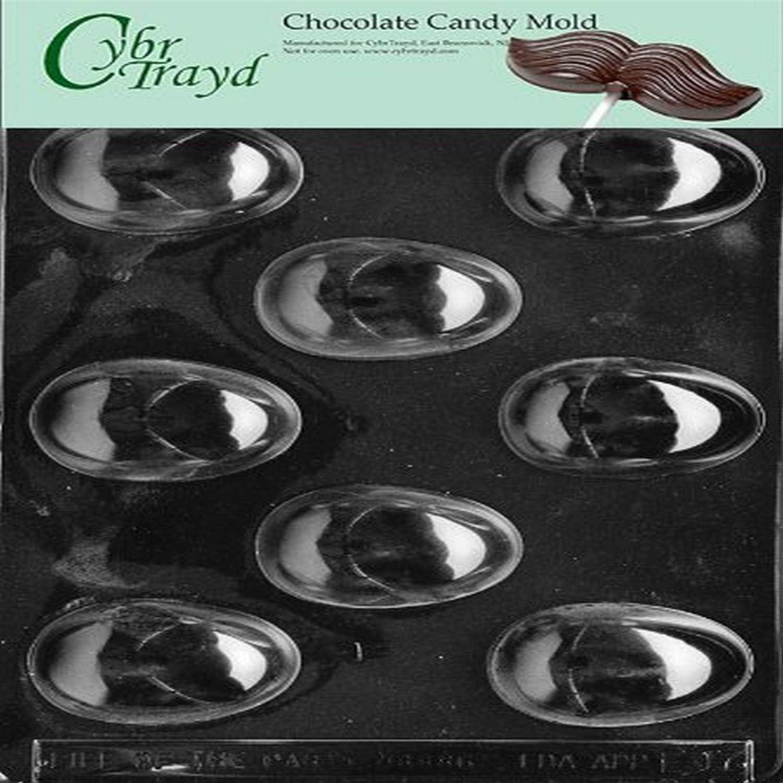 E123 Medium Hollow Egg Easter Chocolate Candy Mold SETOF 2 MOLD