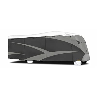 "ADCO 34815 Designer Series Gray/White 29' 1"" - 32' DuPont Tyvek Class C Motorhome Cover: Automotive"