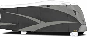 "ADCO 34813 Designer Series Gray/White 23' 1"" - 26' DuPont Tyvek Class C Motorhome Cover"
