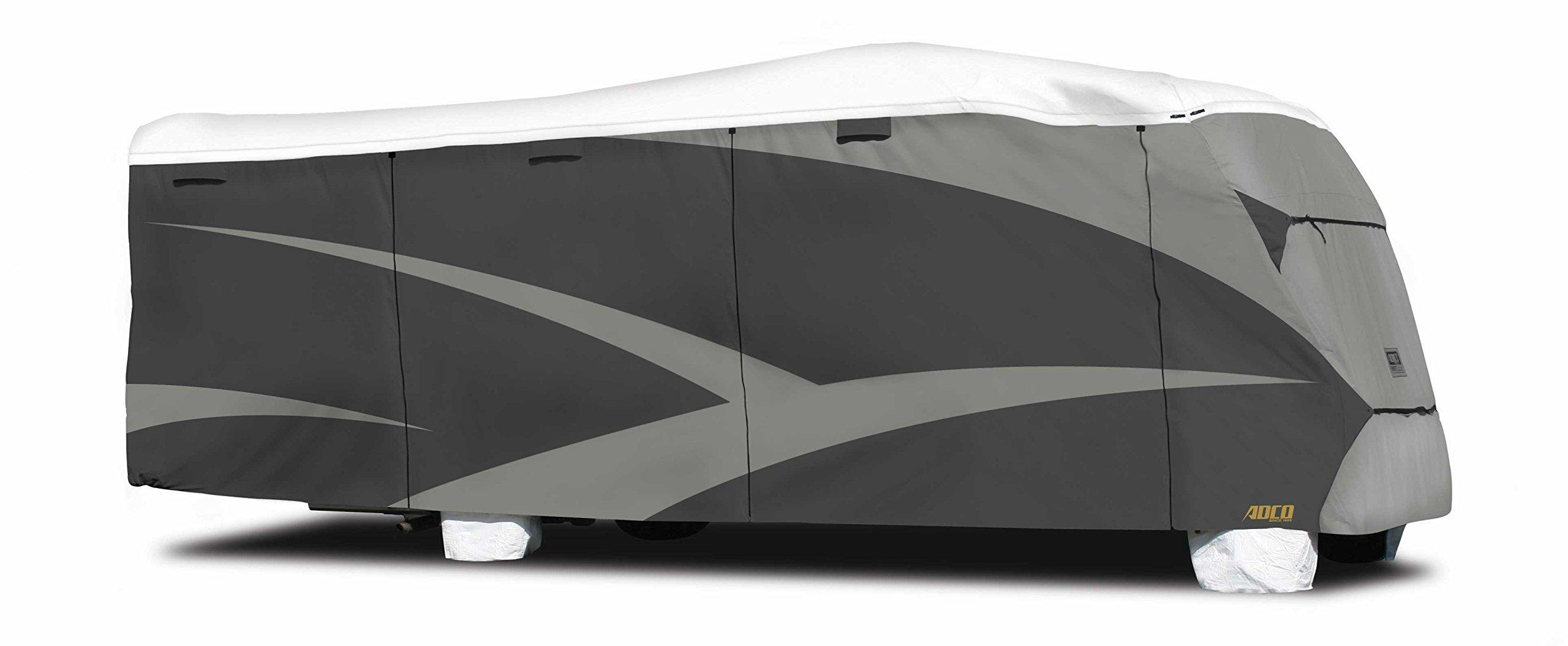 ADCO 34812 Designer Series Gray/White 20' 1'' - 23' DuPont Tyvek Class C Motorhome Cover