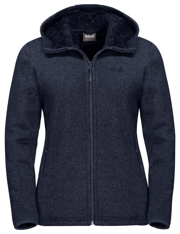 Jack Wolfskin Milton W fleece pullover blue heather | WeAre Shop
