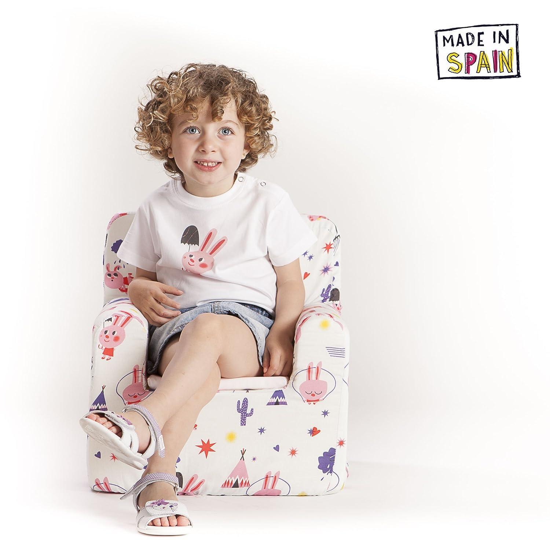 2327e643c Sillon bebe sillita para recién nacidos desenfundable lavable resistente  cómodo decoracion muebles niños Fabricado en España Ampliar imagen