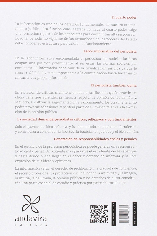 DERECHO PARA PERIODISTAS: Amazon.es: FISAC DE RON, PALOMA: Libros